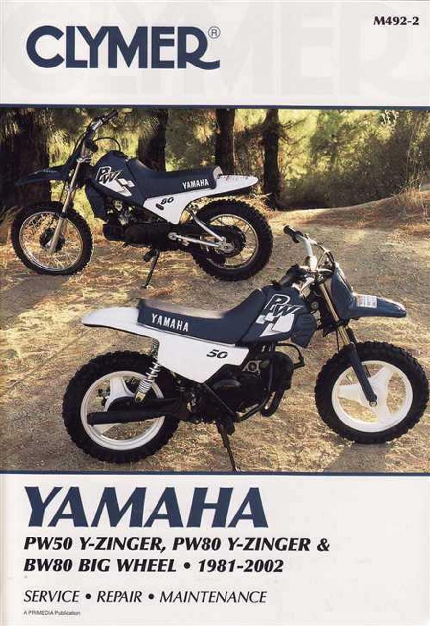 Yamaha PW50 and PW80 Y-Zinger, BW80 Big Wheel 1981 - 2002 Workshop on