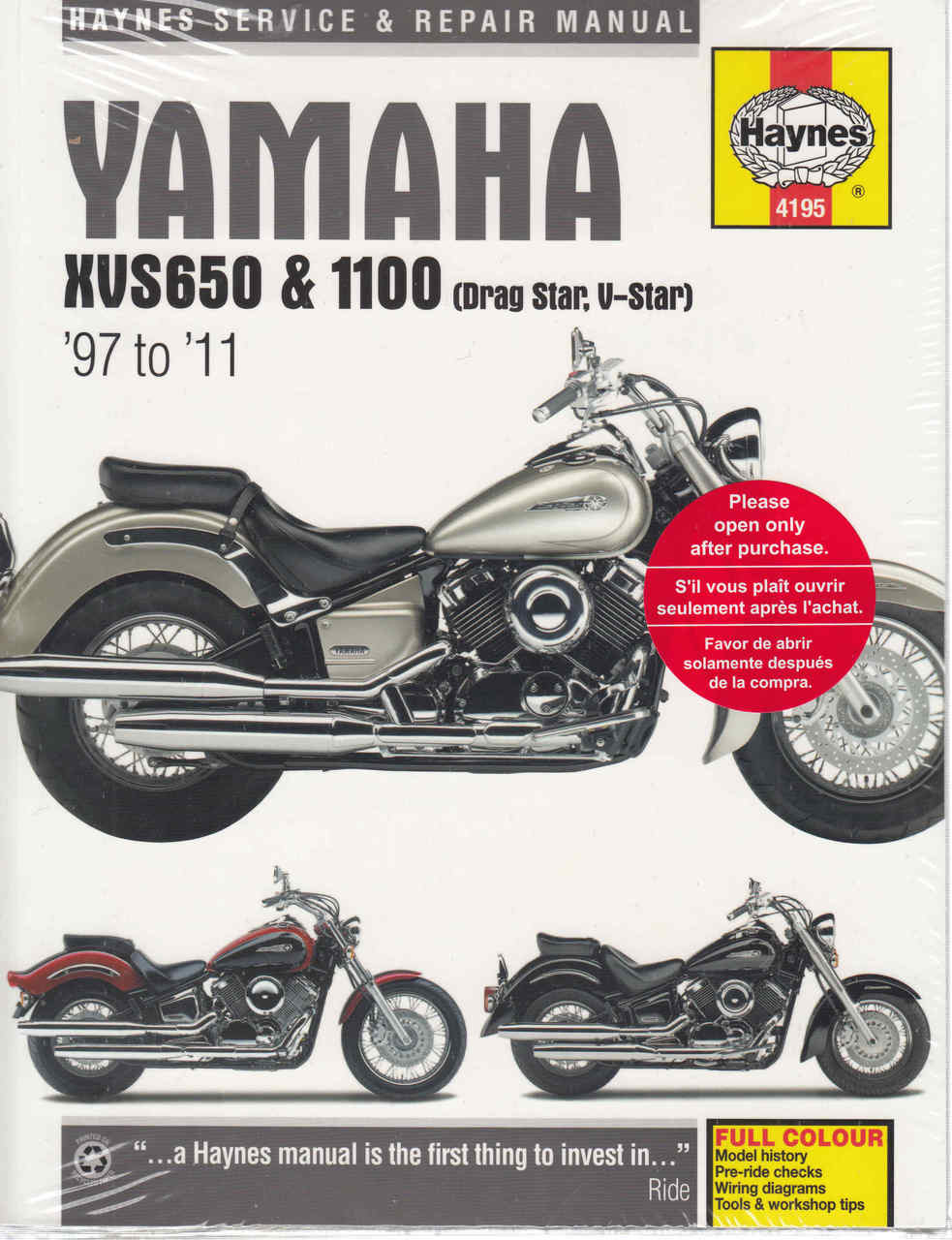 https://www automotobookshop com au/yamaha-xvs650-and-xvs1100-drag-star-v-star-1997-2011-workshop-manual/