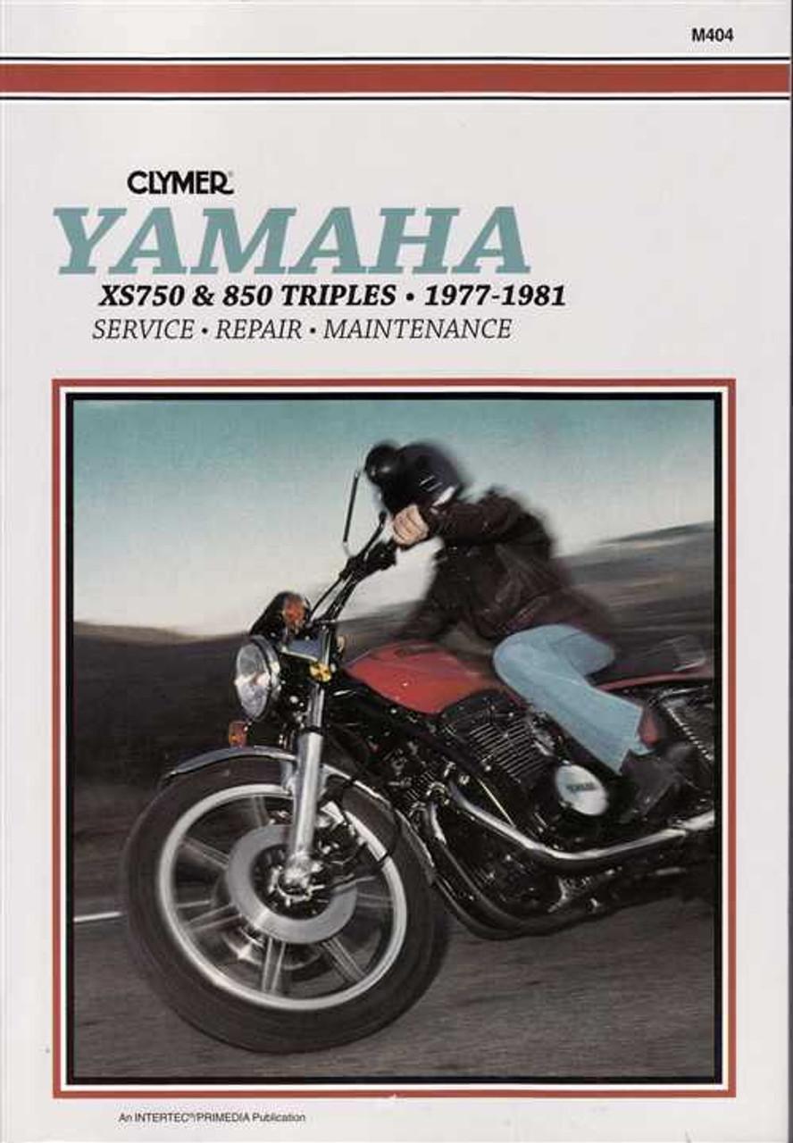 Yamaha Xs750 Xs750 Ii Xs850 Amp Xs850s Triples 1977 1981 Workshop Manual