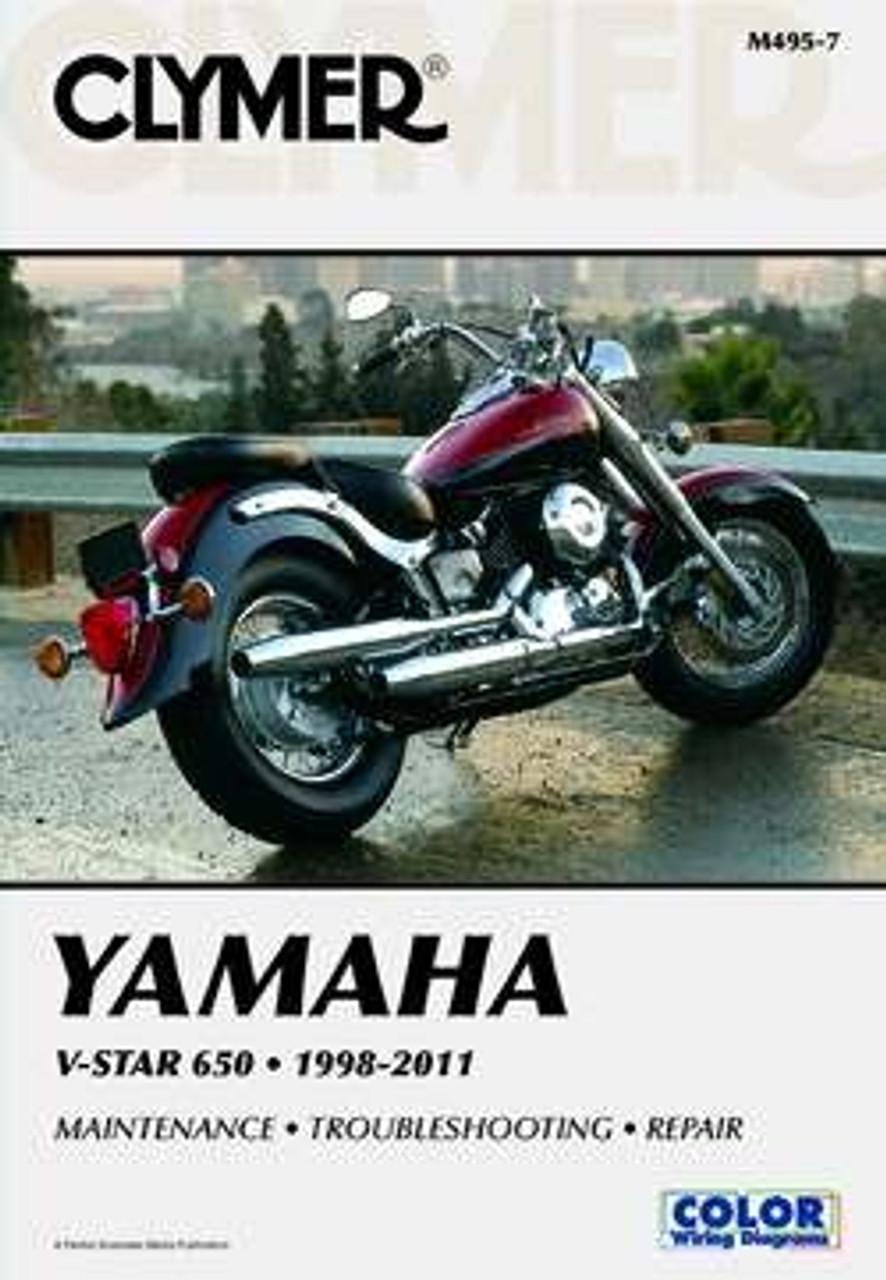Yamaha V-star 650 1998