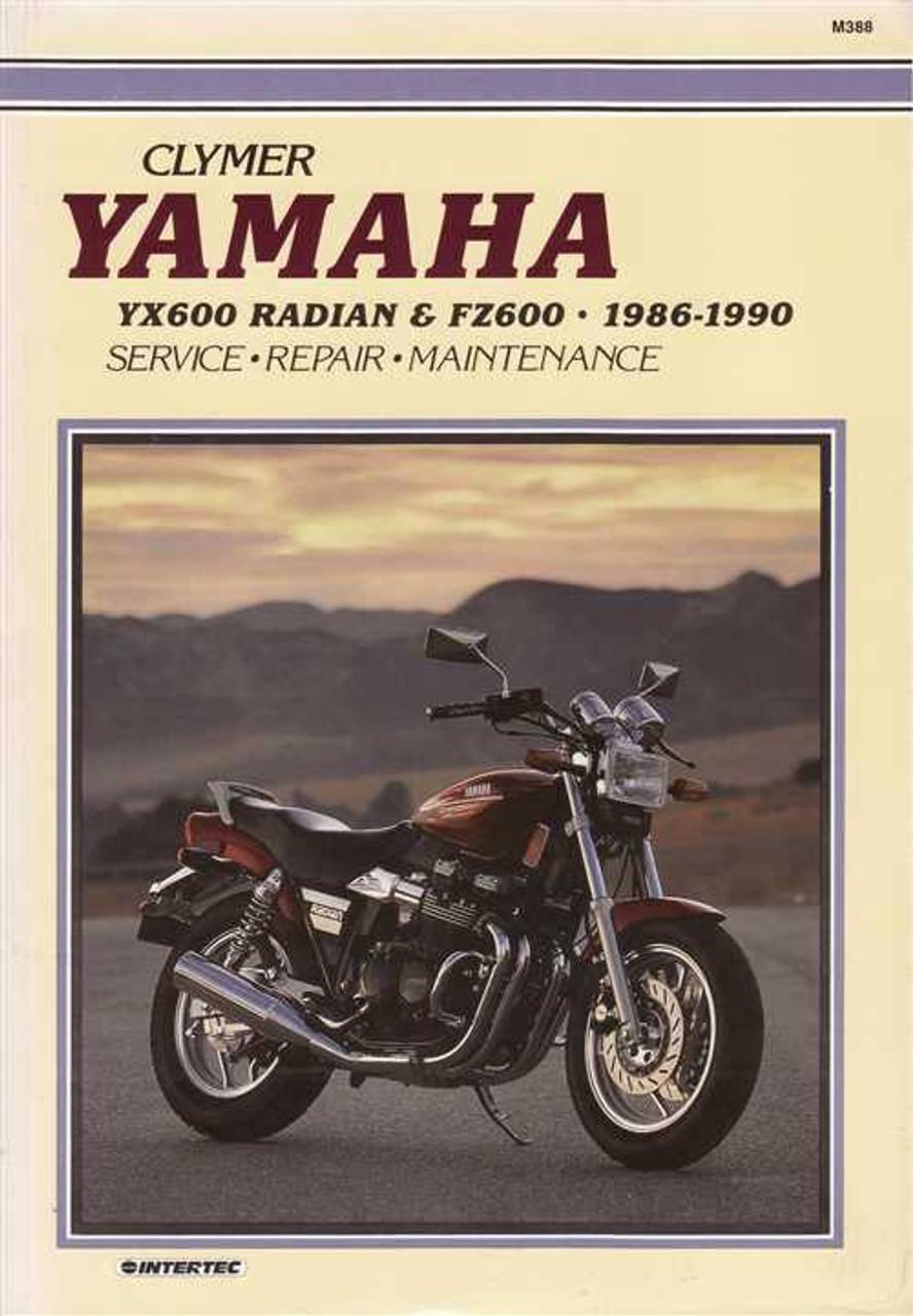 1986 yamaha yx600 radian