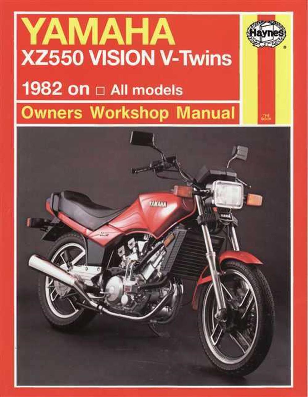 1982 yamaha xz550rj vision