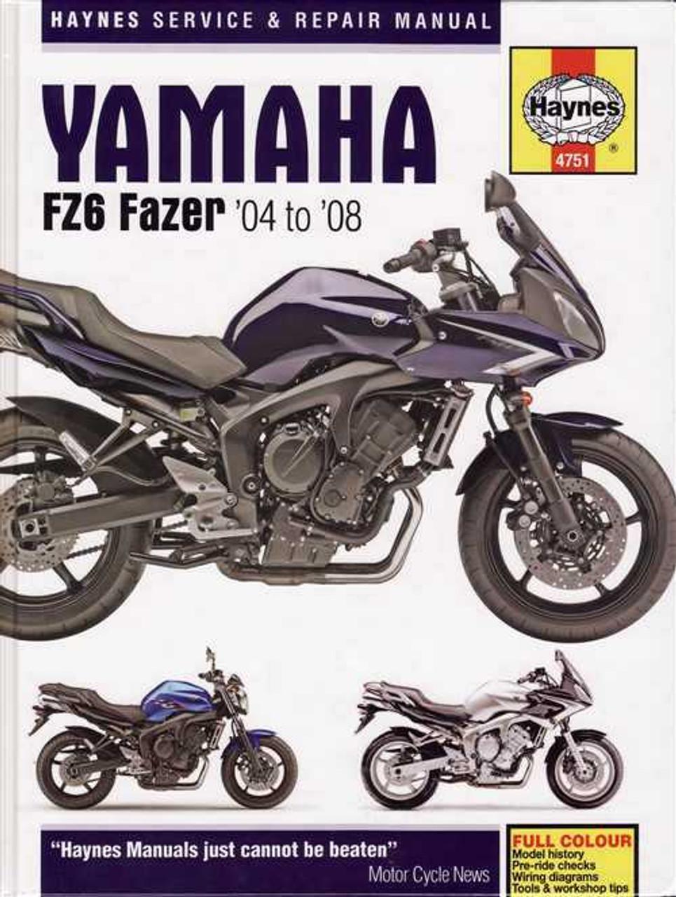 Fz600 Service Manual