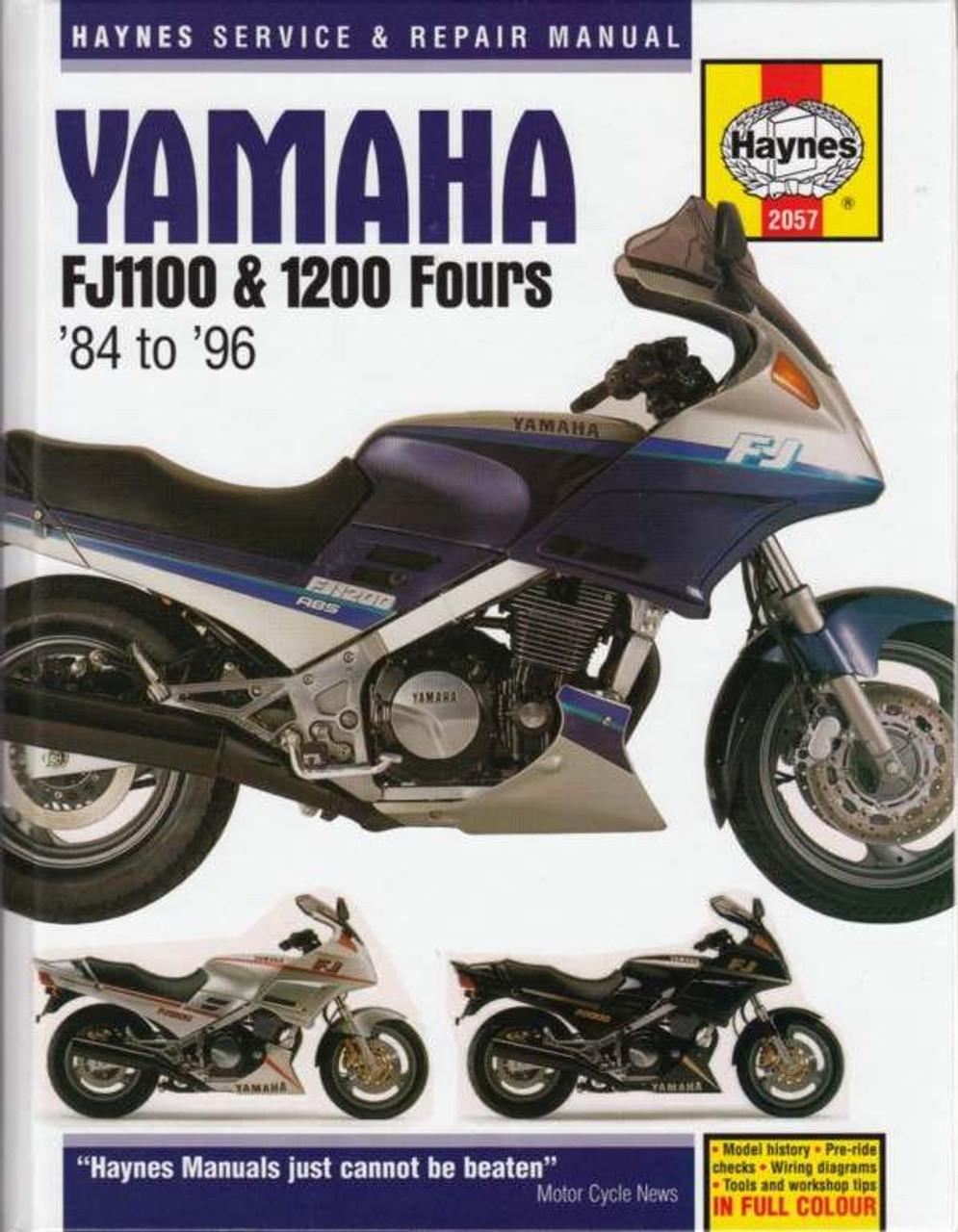 fj1200 service manual