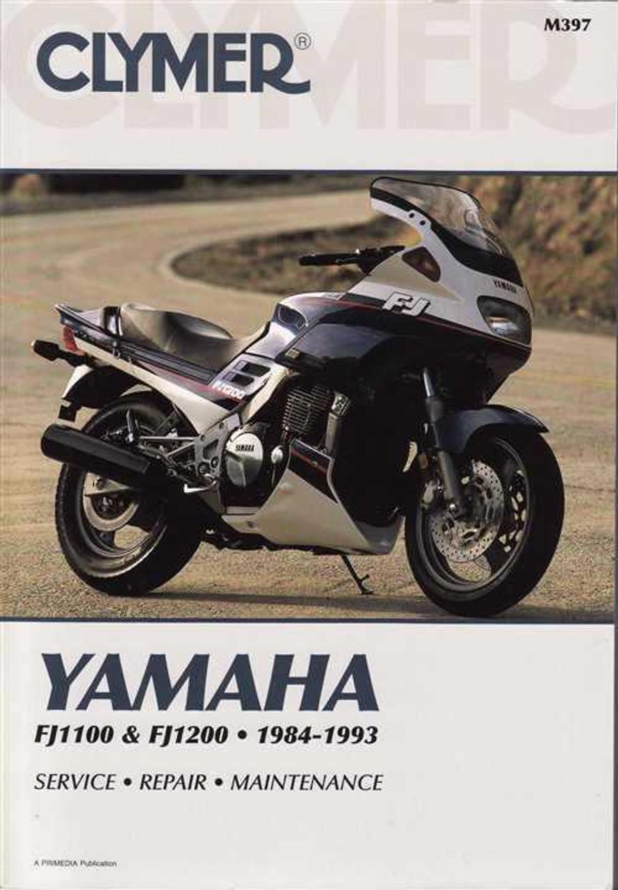 Yamaha Fj1100 Amp Fj1200 1984 1993 Workshop Manual