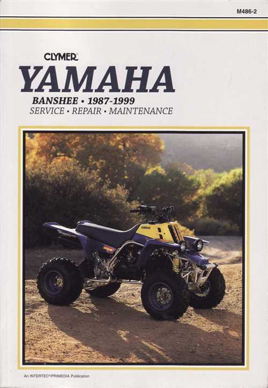 Yamaha Yfz350 Banshee Atvs 1987 1999 Workshop Manual