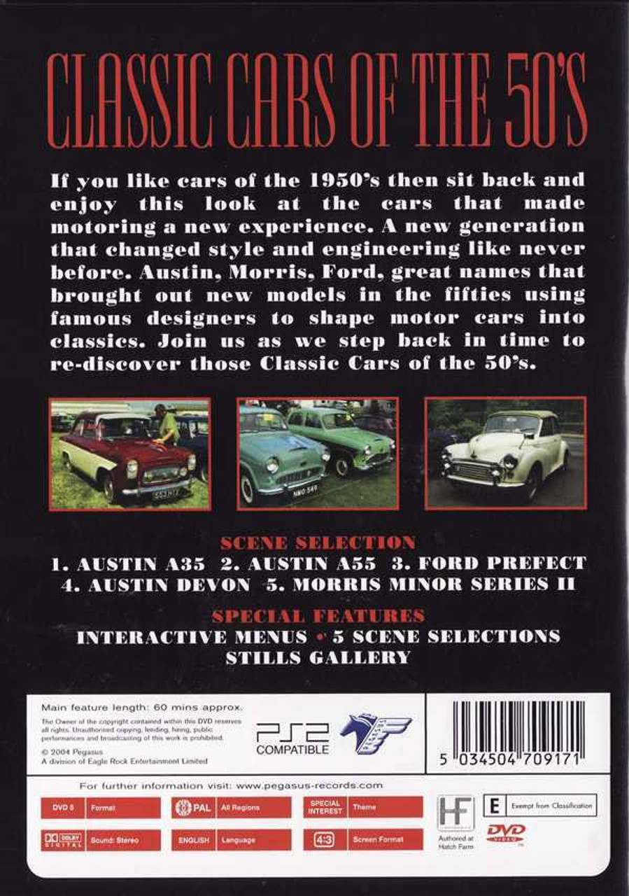 dd623f2c8 Classic Cars of The 50 s DVD