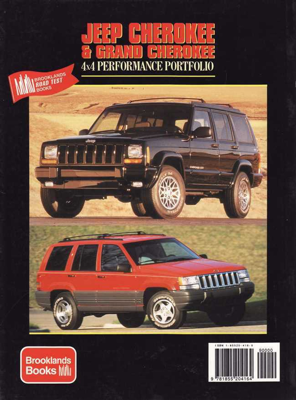 JEEP CHEROKEE MANUAL BOOK PERFORMANCE UPGRADES ZAPPE OFF ROAD GUIDE