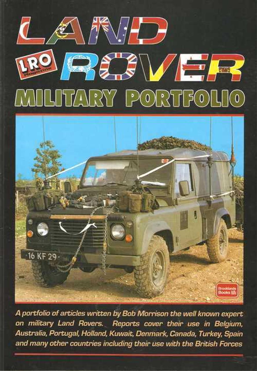 Combat Land Rovers Portfolio Military Land Rover WMIK Wolves SOVs Book Articles