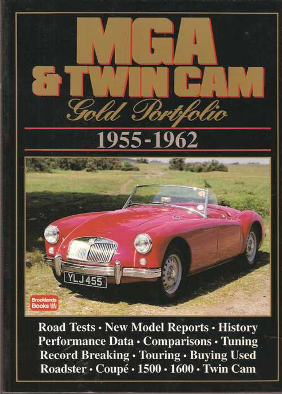 Mga Restoration Guide Book 1955-1962 1500 1600 Mkii Roadster Coupe Twin Cam