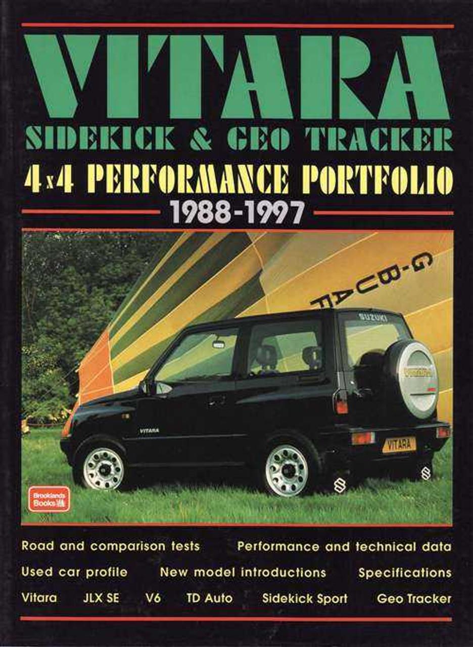 suzuki sidekick geo tracker 1988 repair service manual