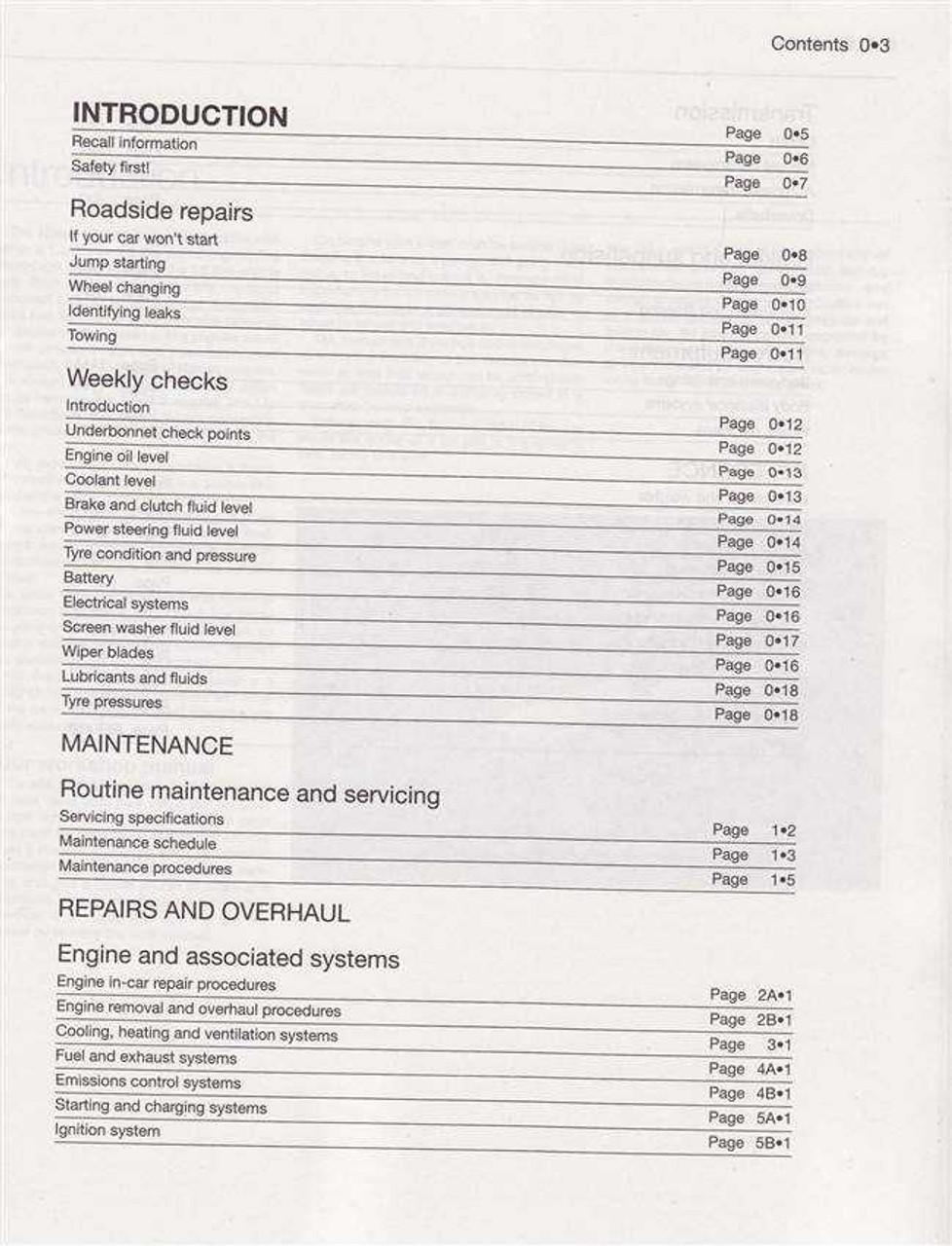 nissan n16 almera pulsar service manual 2000 2002