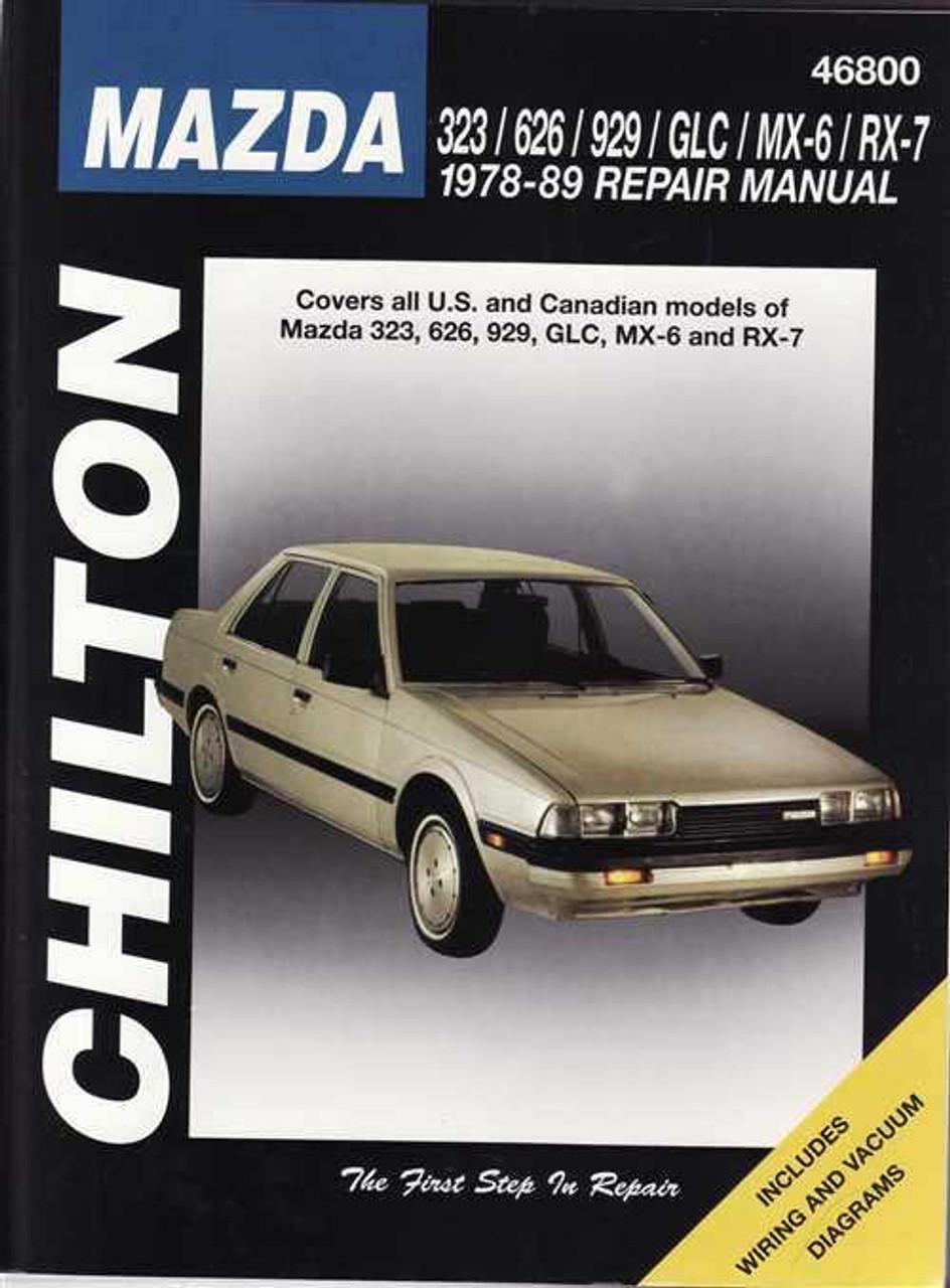 Mazda 323  626  929  Glc  Mx-6  Rx-7 1978