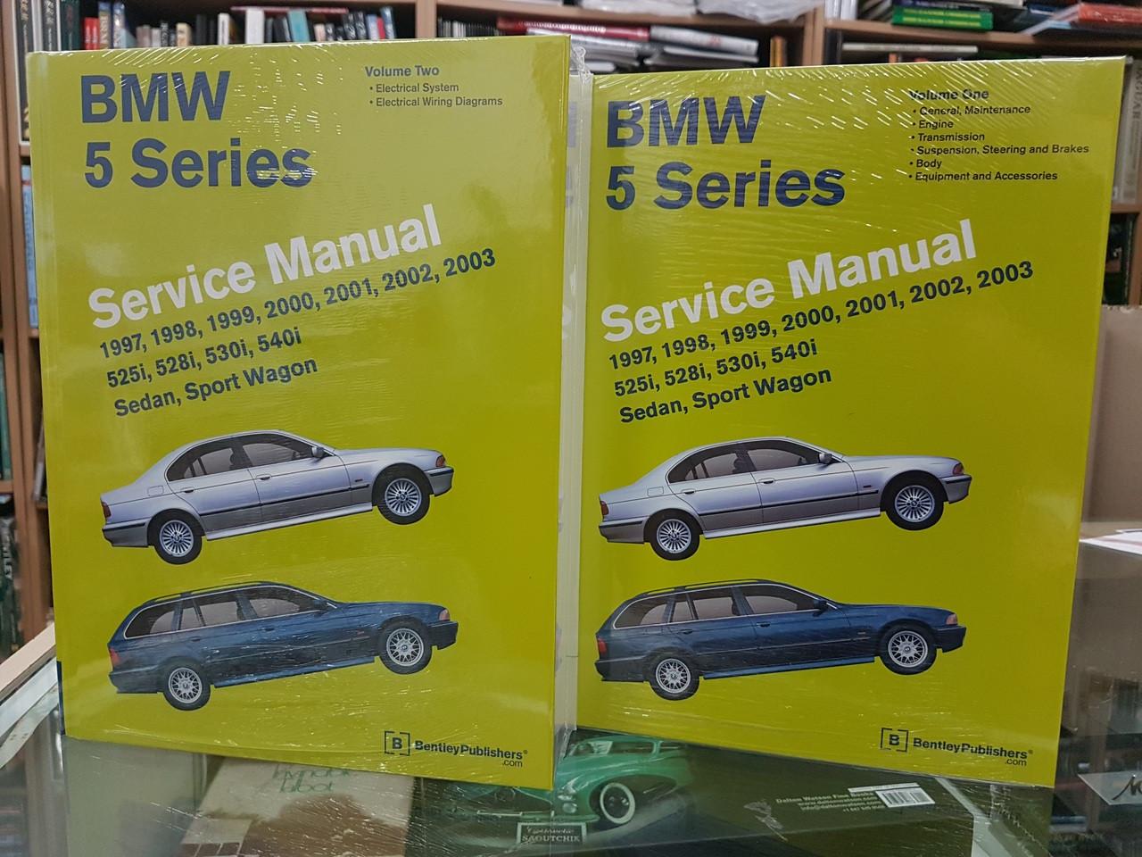 BMW 5 Series E39 525i, 528i, 530i, 540i 1997 - 2003 Workshop Manual