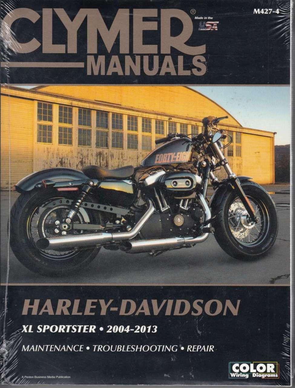 Harley-Davidson XL Sportster 2004 - 2013 Workshop Manual on