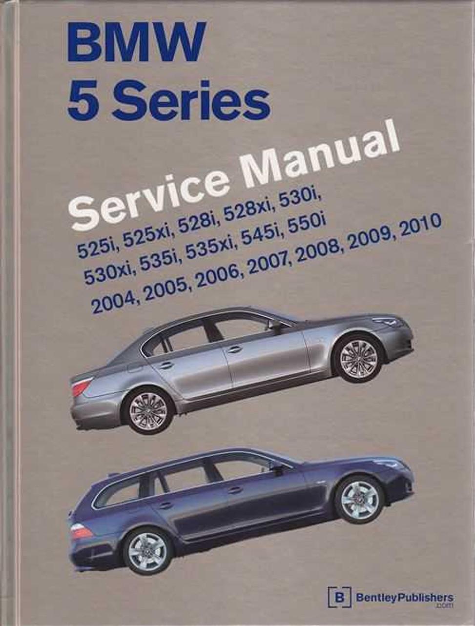BMW 5 Series (E60, E61) 2004 - 2010 Workshop Manual