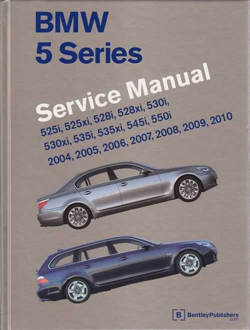 Bmw 5 Series E60 E61 2004 2010 Workshop Manual
