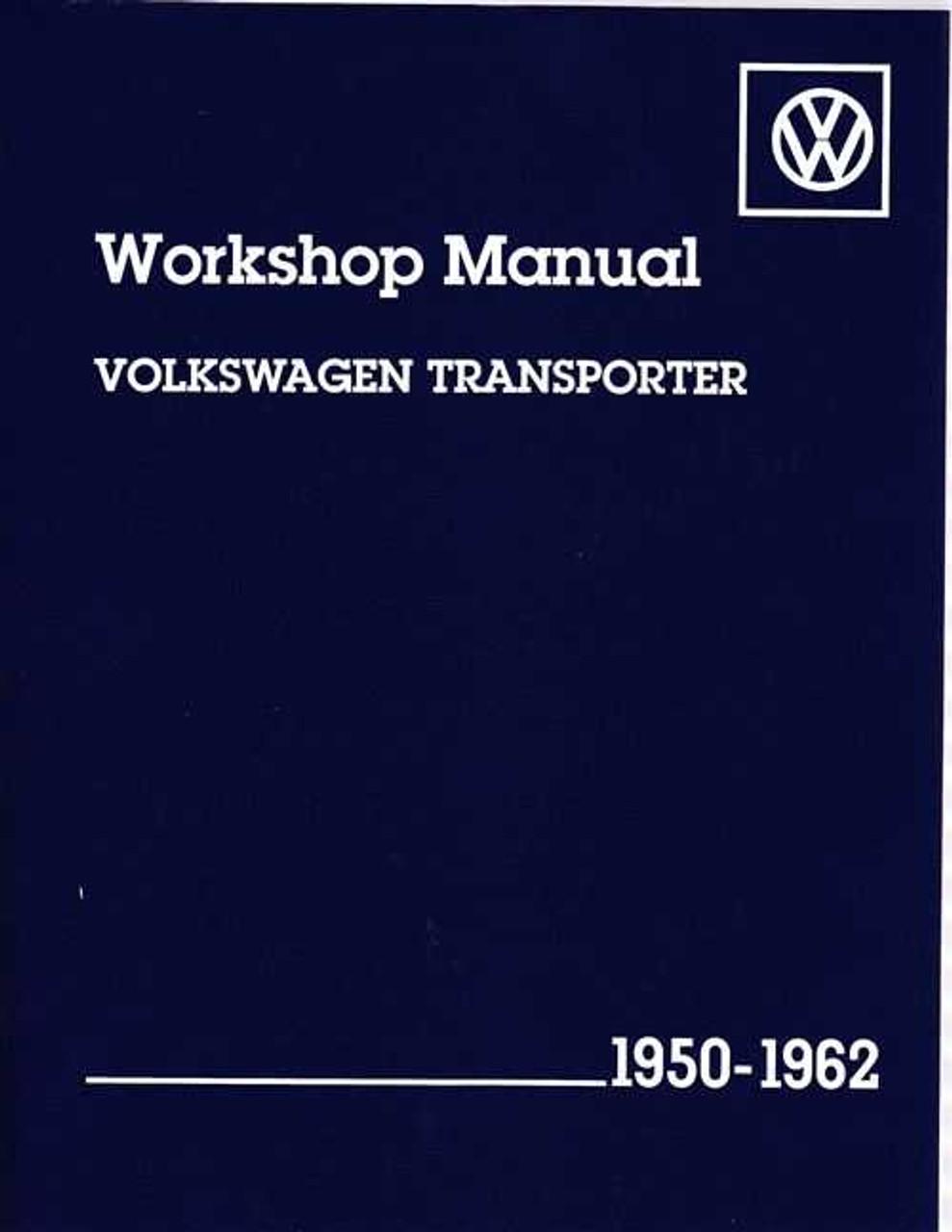Volkswagen Transporter Type 2 all models 1950 - 1962 Workshop Manual