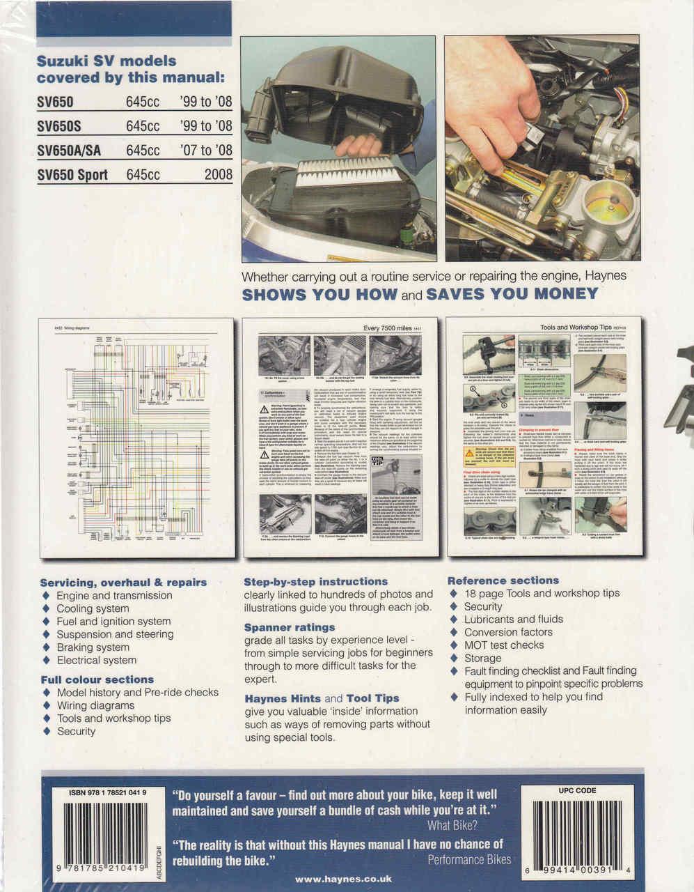 Suzuki Sv650 Ignition Wiring Diagram. . Wiring Diagram on