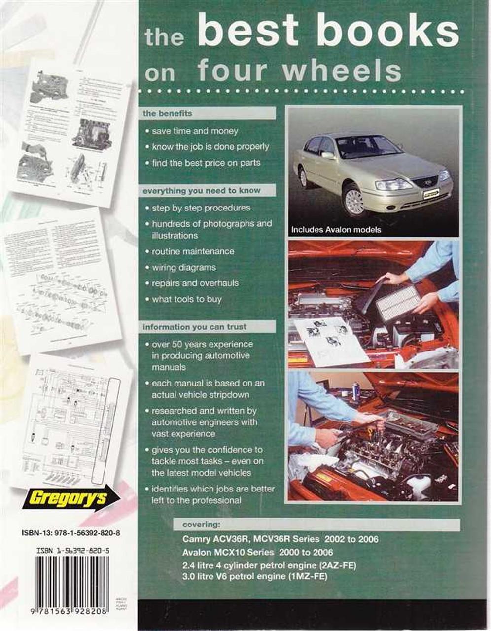 haynes repair manual 2004 toyota camry