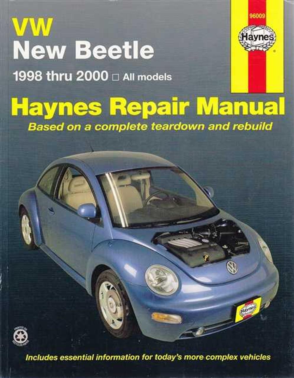2000 vw beetle workshop manual