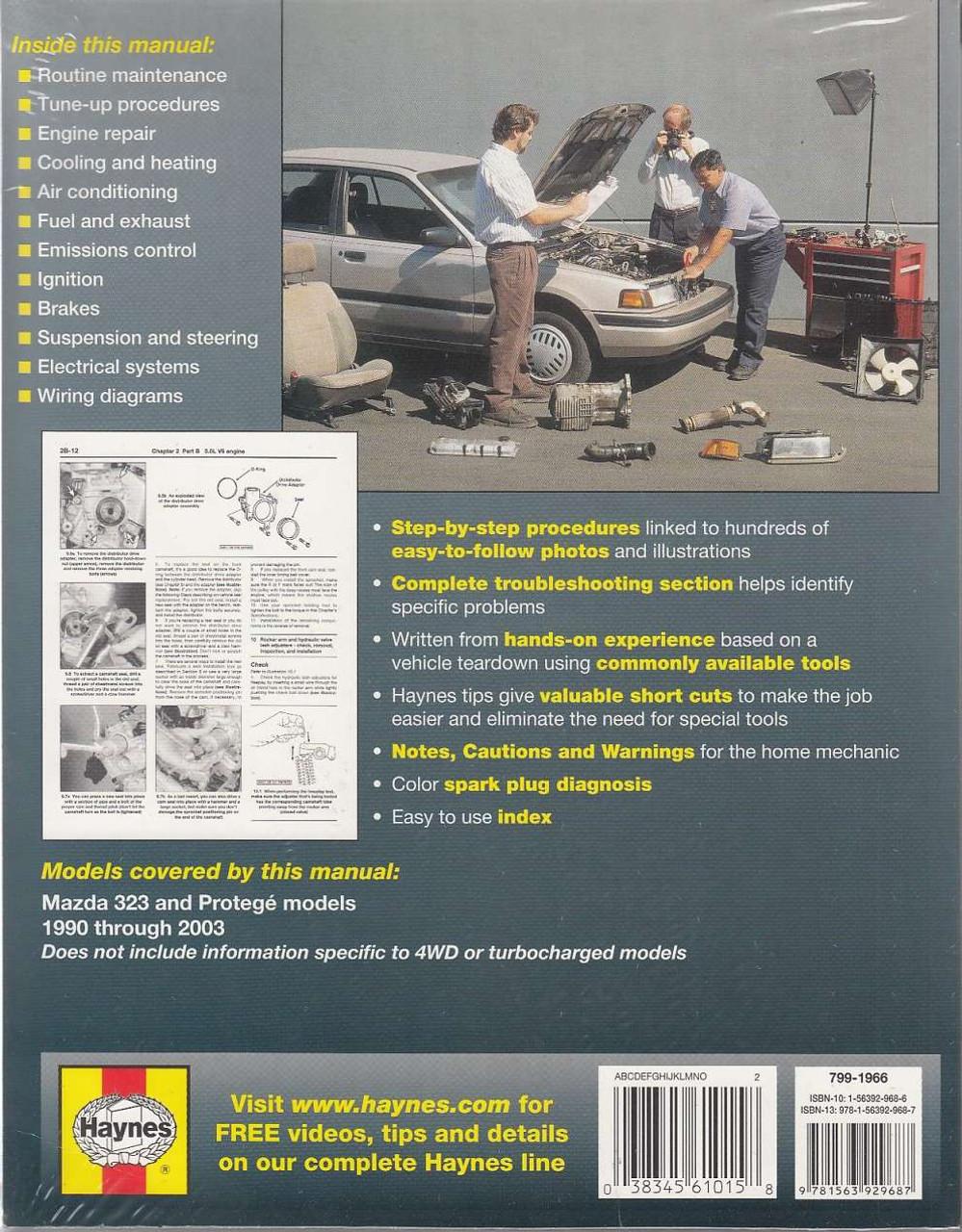 Mazda 323 And Protege 1990