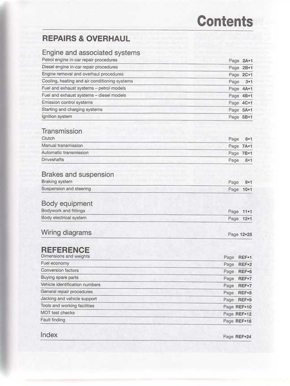 haynes volvo s60 repair manual
