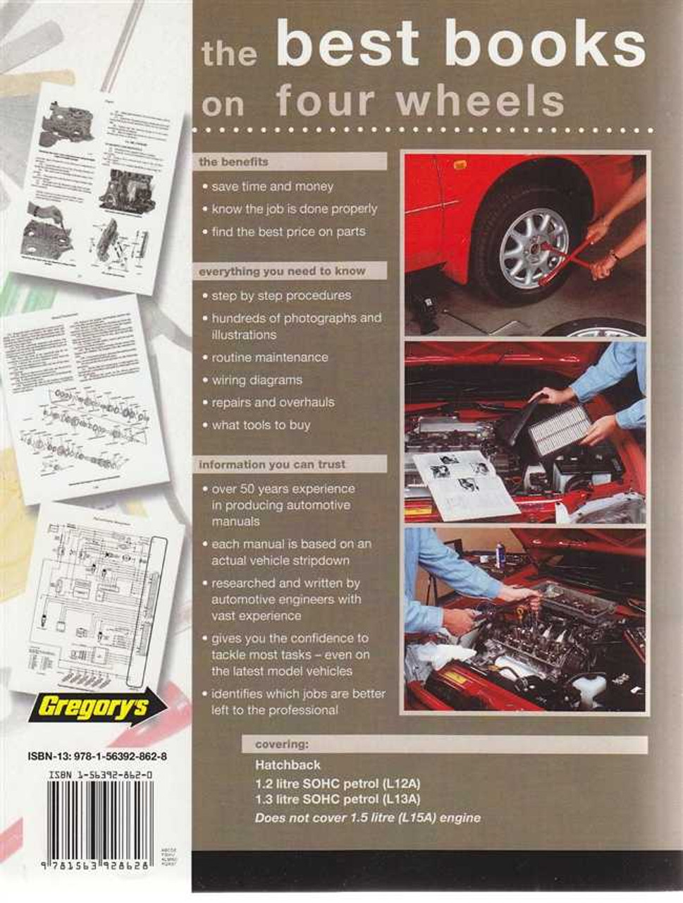 Honda Jazz 12l 13l 2002 2008 Workshop Manual