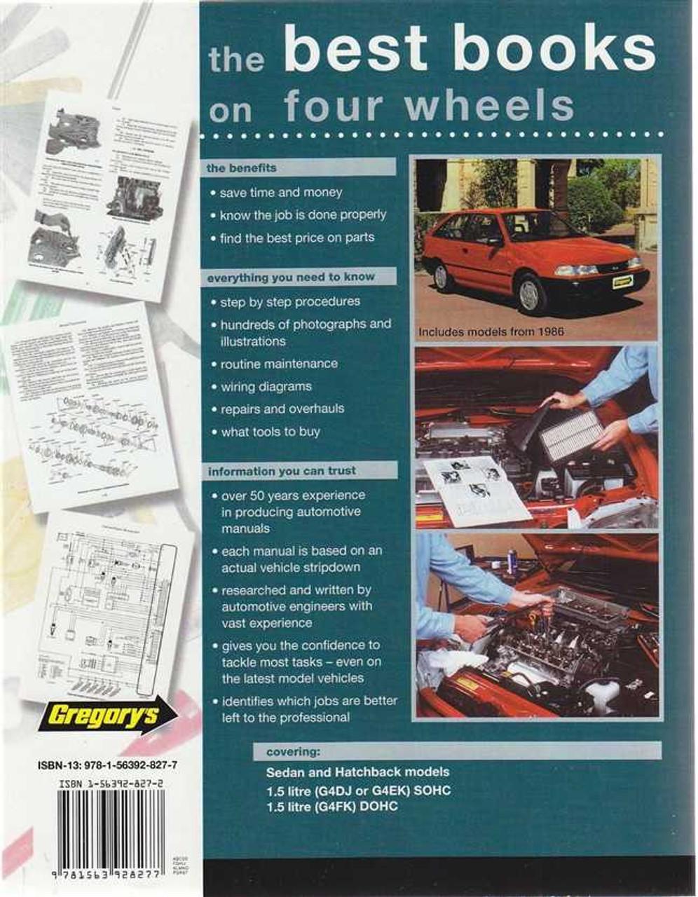 Hyundai Excel 1 5 Litre 1986 - 2000 Workshop Manual