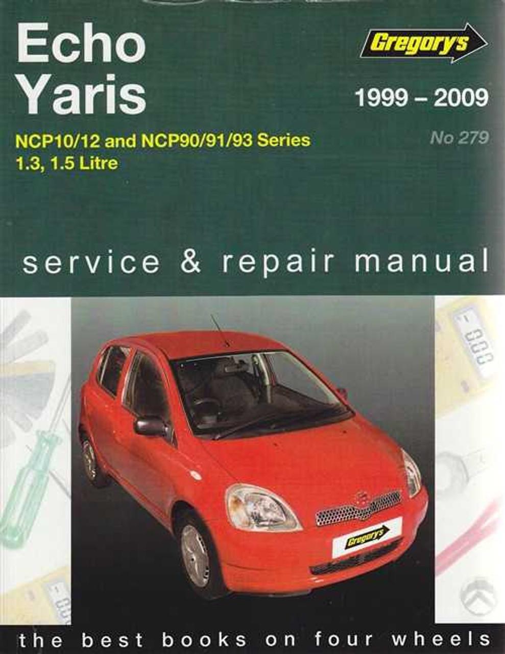TOYOTA YARIS SERVICE BOOK