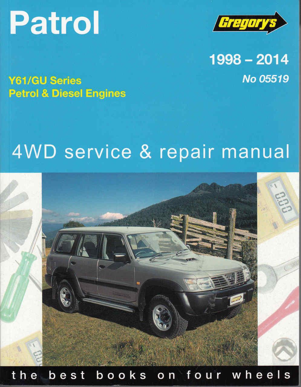 0158 Nissan Patrol Owner Manual Y61 Wiring Library