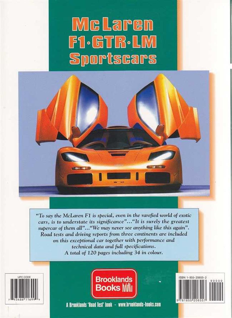 McLaren F1, GTR, LM Sportscar Performance Portfolio