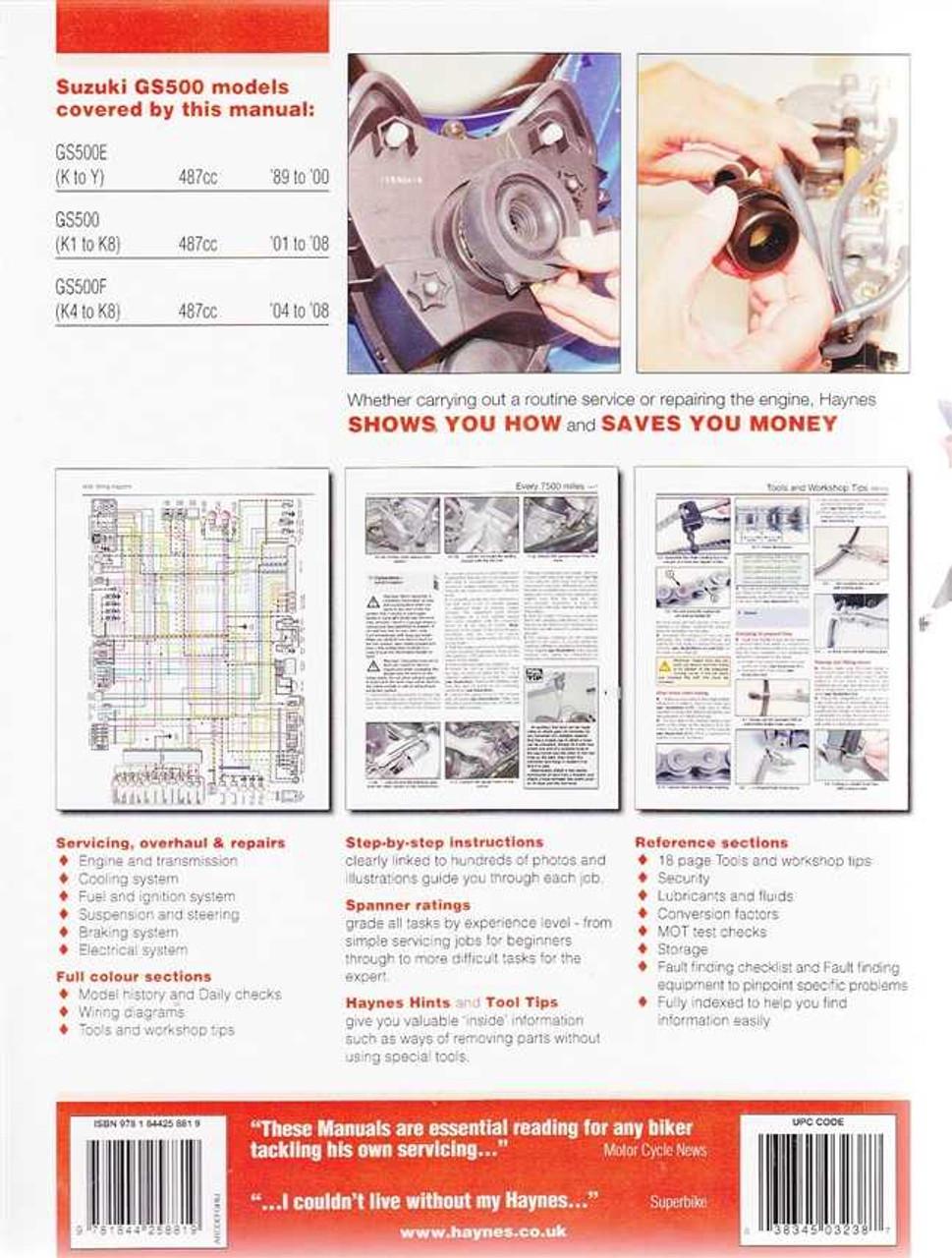 1992 Suzuki Gs500 Wiring Diagram - List of Wiring Diagrams on