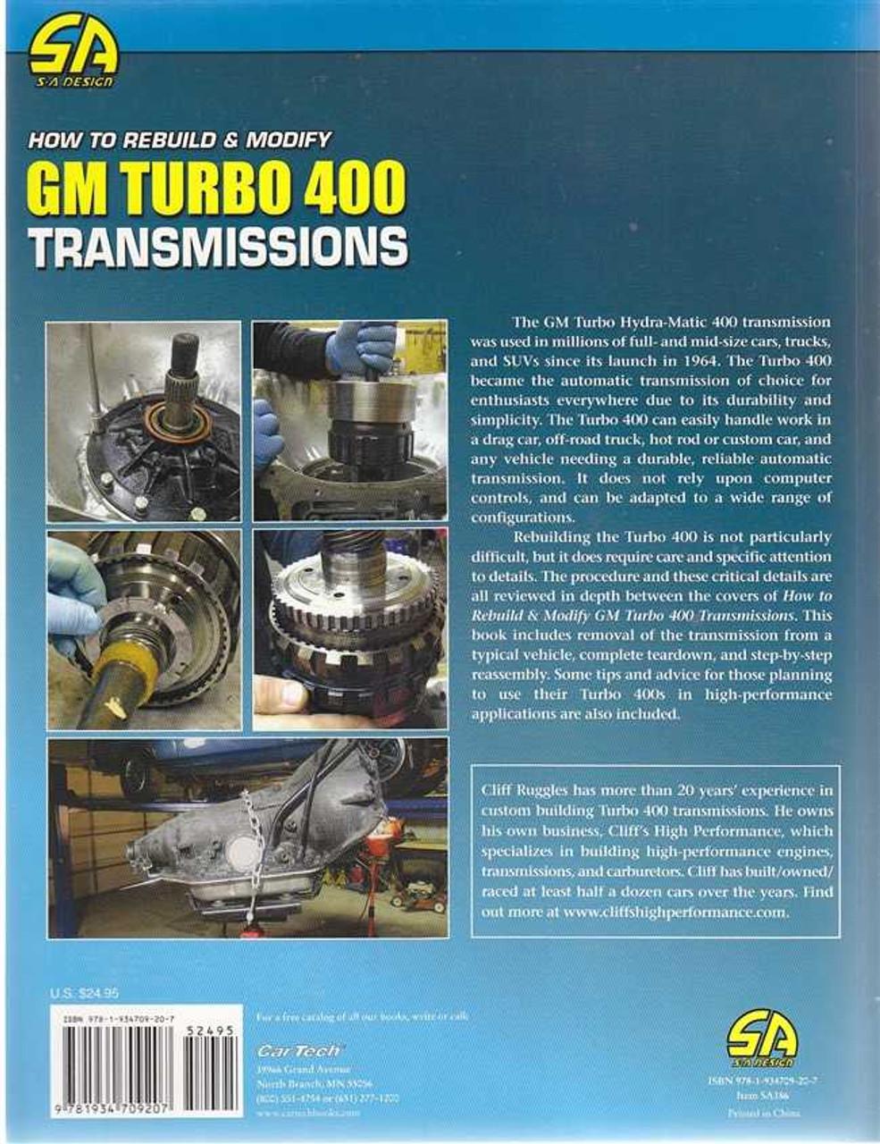 turbo 400 rebuild