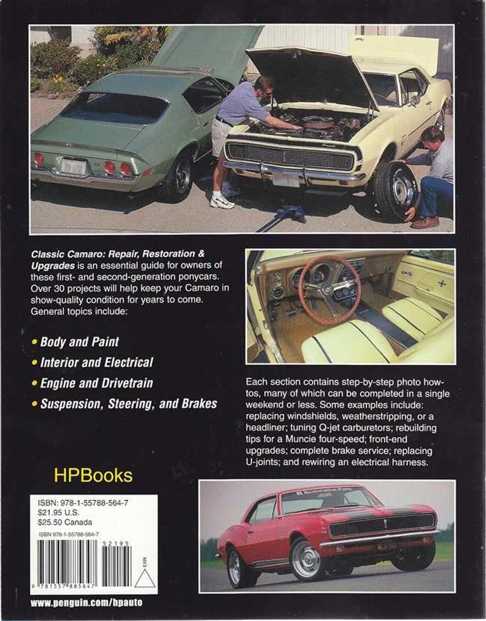 Classic Camaro Repair, Restoration & Upgrades 1967 - 1981