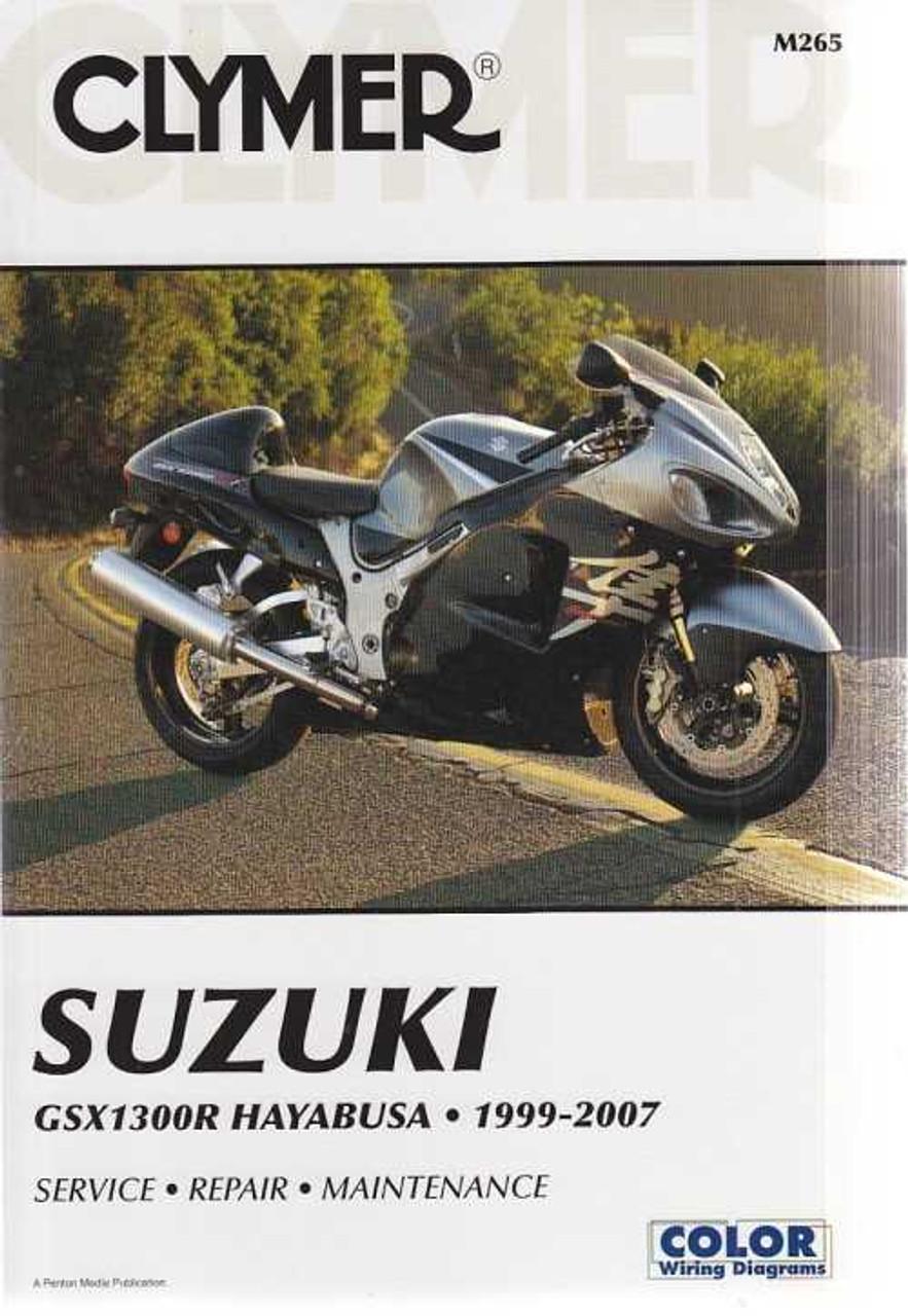 Clymer Suzuki Gsx1300r Hayabusa 1999 2007 Workshop Manual