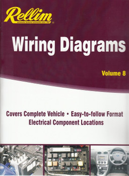 Rellim Wiring Diagrams Volume 8 front cover