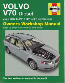 Volvo V70 Diesel 2007-2012 Repair Manual (front cover)