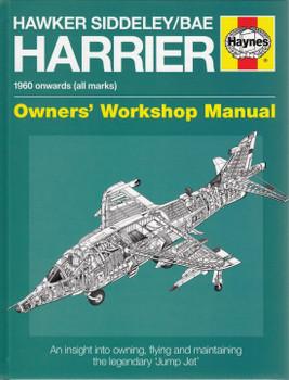 Hawker Siddeley / Bae Harrier 1960 onwards Owner's Workshop Manual