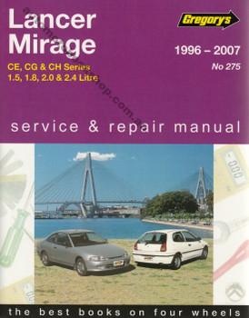 Mitsubishi Lancer, Mirage CE, CG, CH 1996 - 2007 Repair Service Manual