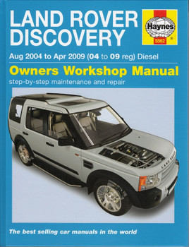 Land Rover Discovery 2004 - 2009 Diesel Repair Manual