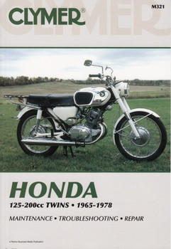 Honda 125 - 200cc Twins 1965 - 1978 Repair Manual