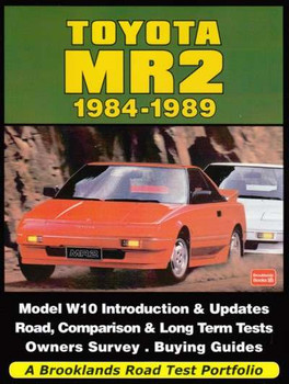 Toyota MR2, w10 1984 - 1989 A Brooklands Road Test Portfolio