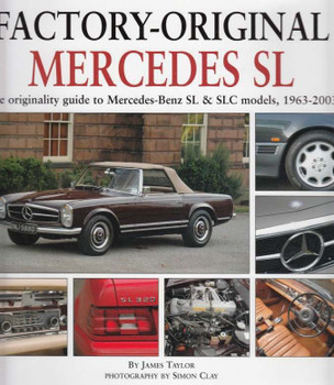 Factory-Original Mercedes SL book