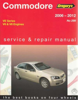 Holden Commodore VE SeriesV6, V8 2006 - 2012 Repair Manual