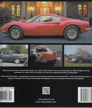 Ferrari Dino - The V6 Ferrari Back Cover