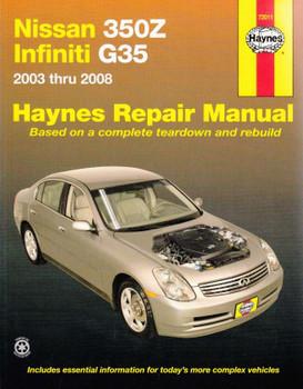 Nissan 350Z, Nissan Infiniti G35 Repair Manual