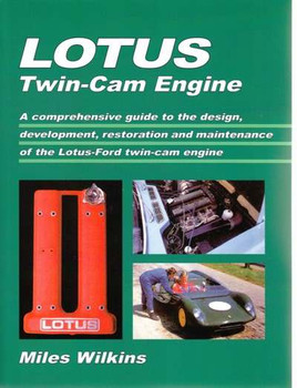 Lotus Twin-Cam Engine - Brooklands Books Reprint
