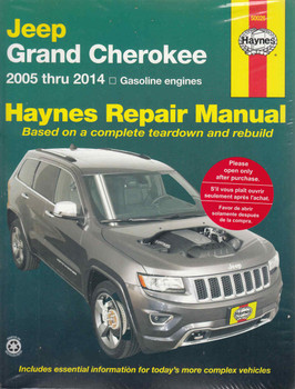Jeep Grand Cherokee 2005 - 2014 (Petrol Engines) Workshop Manual (038345500268) - front