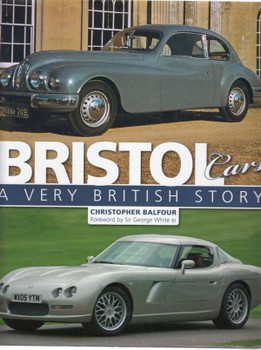 Bristol Cars A Very British Story - front cover